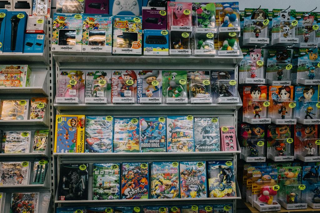 Nintendo y amiibo, también están presentes en Taipei City Mall