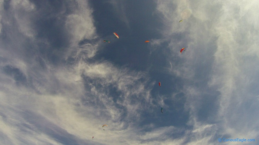 Paragliding Partners in Sky