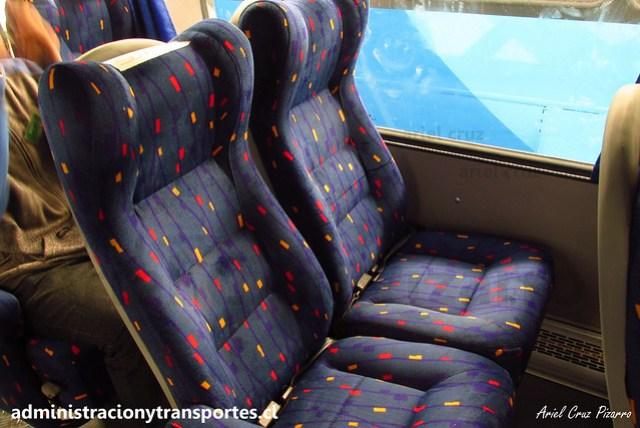 Inrecar S.A   Postura de asientos