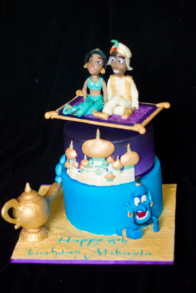 Aladdin Cake Had A Ball Making This Cake Aladdin