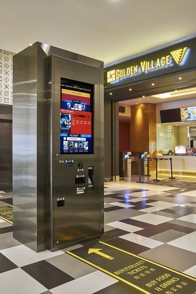 Automated Ticketing Machines will make it so much easier for you to get your tickets and food at GV Tiong Bahru.
