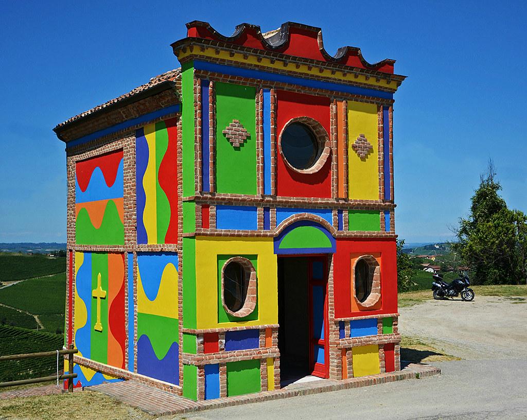 La Cappella Del Barolo In Localit Brunate Presso La