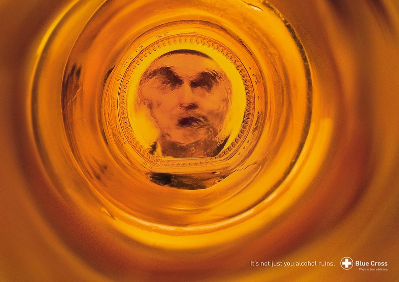 Blue Cross - Whisky Bottle