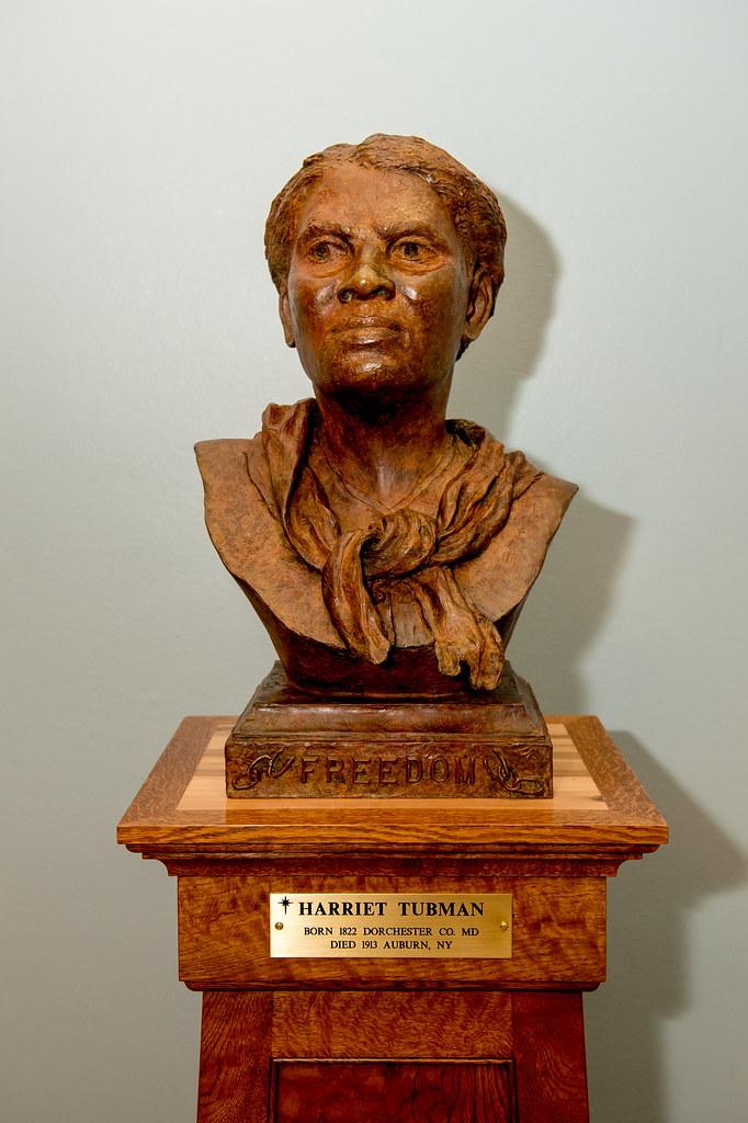 Harriet Tubman Bust Unveiling Harriet Tubman Bust