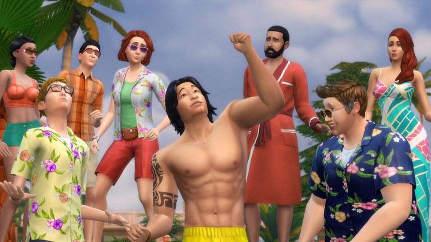 """Les joueurs du jeu de base """"Les Sims 4""""  a augmenté de deux tiers !"""