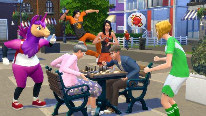 Les Sims 4 Patch
