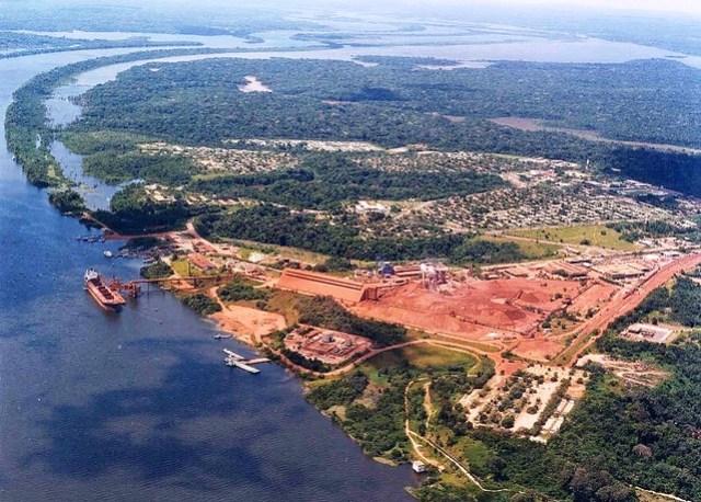 Revista Exame destaca MRN como a 4ª melhor empresa de mineração do país, Porto Trombetas, da MRN