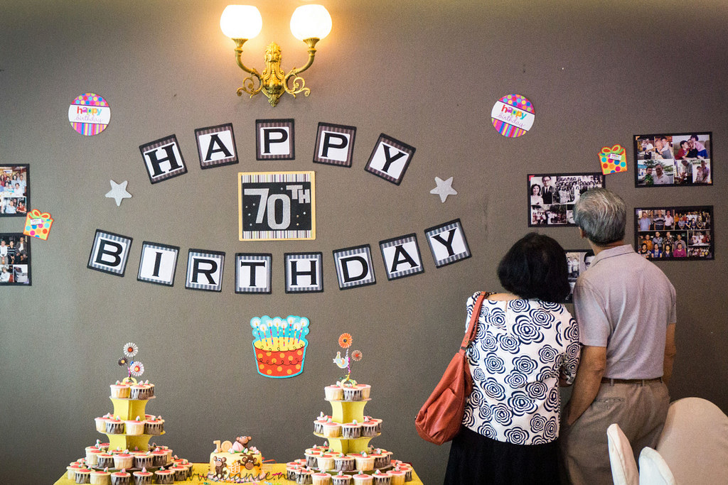 70th Birthday Party Decoration Ideas