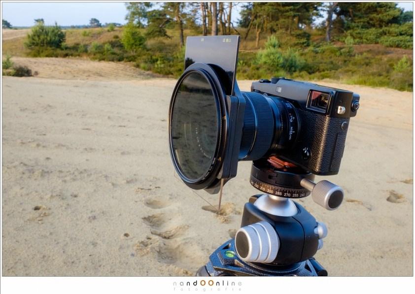 Met een 1,5 cropcamera zoals de Fujifilm X-pro2 is het eenvoudiger om alles van dichtbij tot oneindig scherp in beeld te krijgen, dan met een fullframe camera