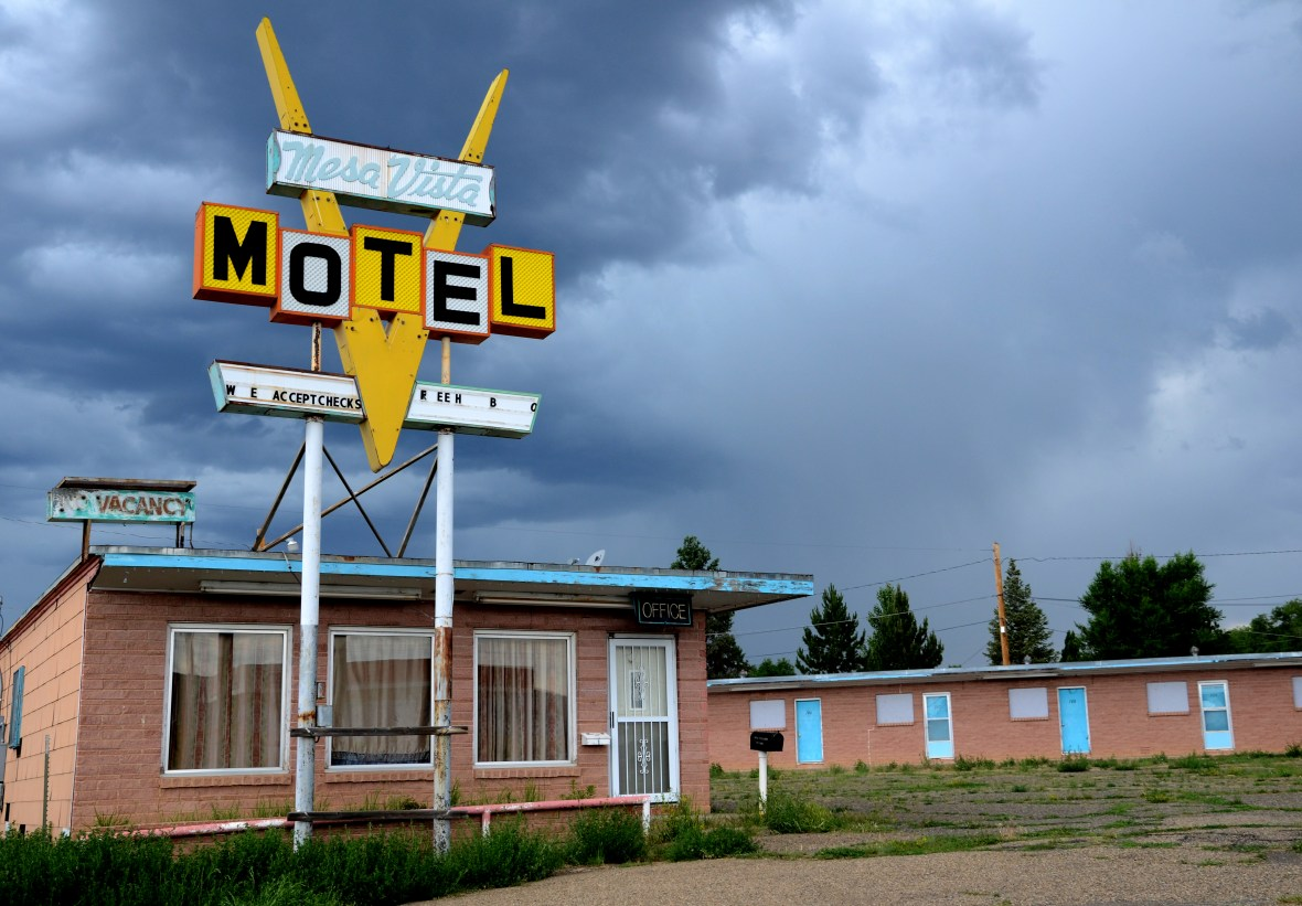 Mesa Vista Motel - Raton, New Mexico U.S.A. - June 28, 2016