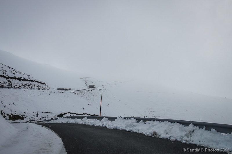 Demostración de la no compensación de la exposición cuando haces fotos en la nieve
