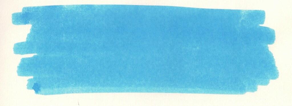 Diamine Mediterranean Blue_inkswab