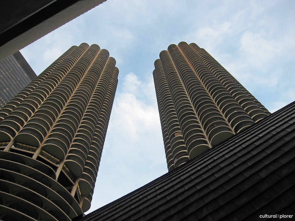 Marina City buildings Chicago