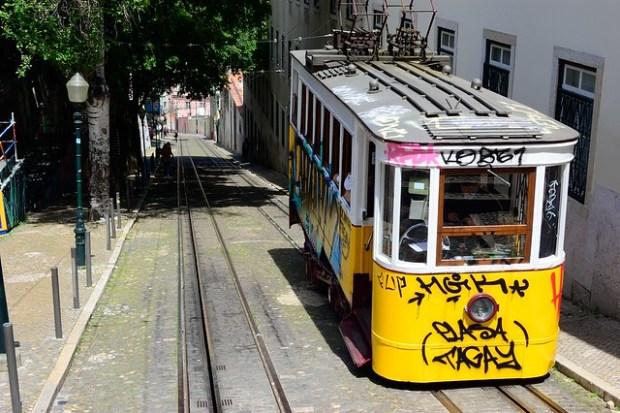 Elevador da Gloria | Two Free Days in Lisbon | No Apathy Allowed