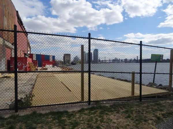Brooklyn Barge Bar Site, 5/13/2015