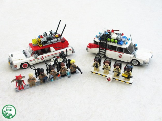 ghostbusters 3 ecto 1 2 review the brothers brick. Black Bedroom Furniture Sets. Home Design Ideas