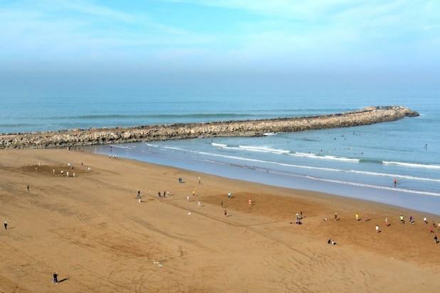 Playa en Rabat