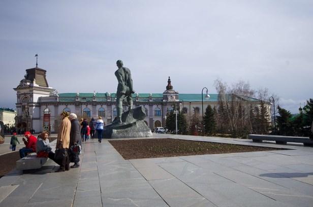 Памятник Мусе Джалилю, Казанский кремль, Казань