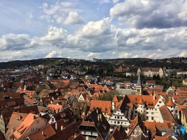 Tübingen Die besten Tipps für einen romantischen Kurztrip - Tübingen von oben