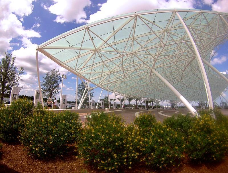 Patriot Plaza at the Sarasota National Cemetery, Sarasota, Fla., May 25, 2015
