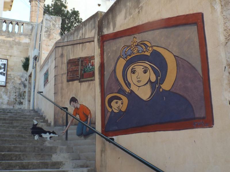 Air Raid Shelter, Mellieha, Malta - the tea break project solo female travel blog