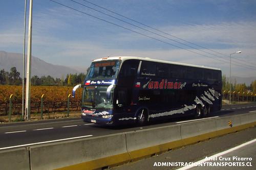 Nueva Andimar Vip - Graneros - Marcopolo Paradiso 1800 DD / Scania (CFWC93)