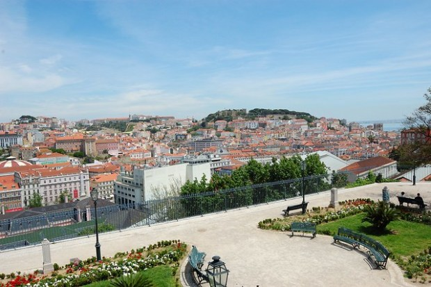 View from the Miradouro de Sao Pedro de Alcantara | Two Free Days in Lisbon | No Apathy Allowed