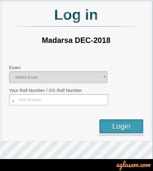 MP Madarsa 12th Result December 2018