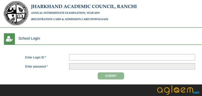 JAC 12th Admit Card 2019