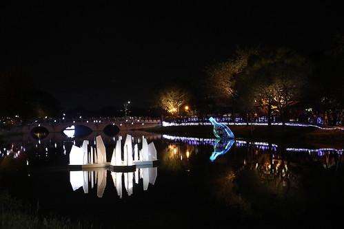 2019台南鹽水月津港燈節:順遊護庇宮、永成戲院、點心城冬瓜茶