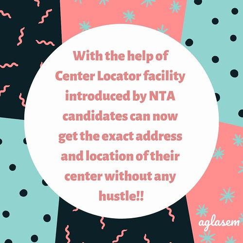 JEE Main 2019 center