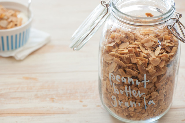 Peanut Butter Granola-2