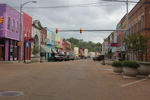 Yazoo City Downtown