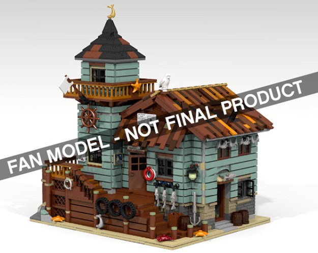 Lego announces old fishing store as next lego ideas model for Old fishing store lego