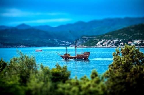 Pirate Ship (Tilt-Shift)