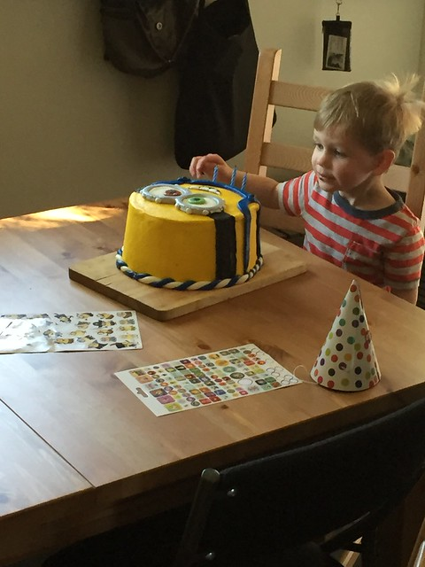 Sam's third birthday
