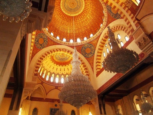Inside Mohammad Al Amin Mosque