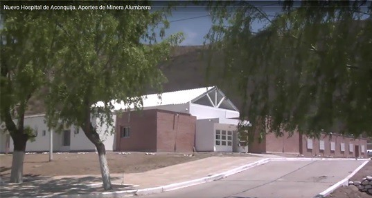 Nuevo Hospital de Aconquija en Catamarca
