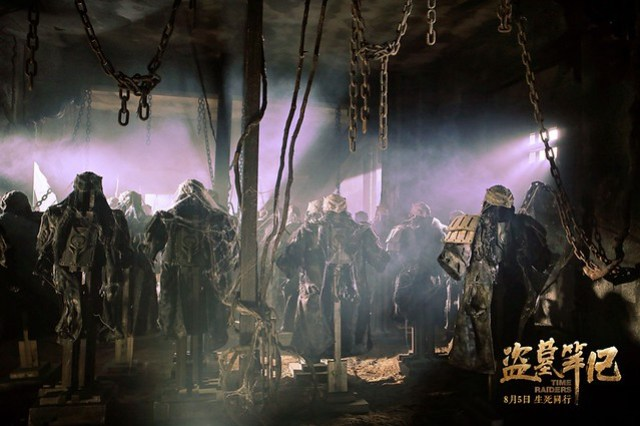 Time Raiders Tomb Set