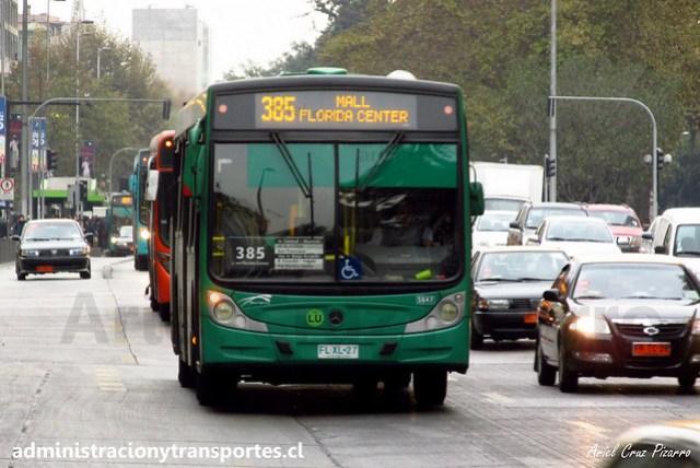Transantiago 385 | Buses Vule | Caio Mondego H - Mercedes Benz / FLXL27