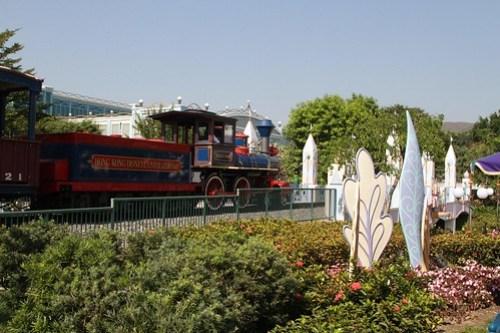 Locomotive #1 'Walter E. Disney' on the Hong Kong Disneyland Railroad