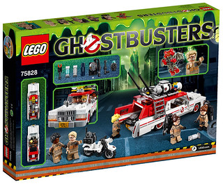 Review LEGO 75828 Ecto-1 & 2 Ghostbusters 2016