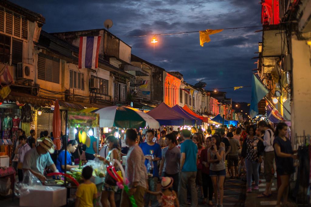 Sunday Night Market,Phuket Old Town,Thai