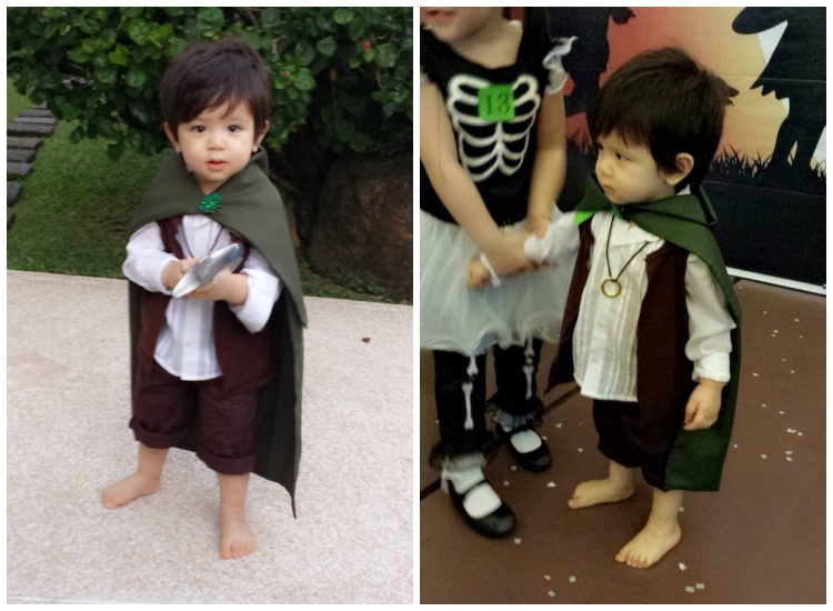 DIY Halloween Costume Frodo