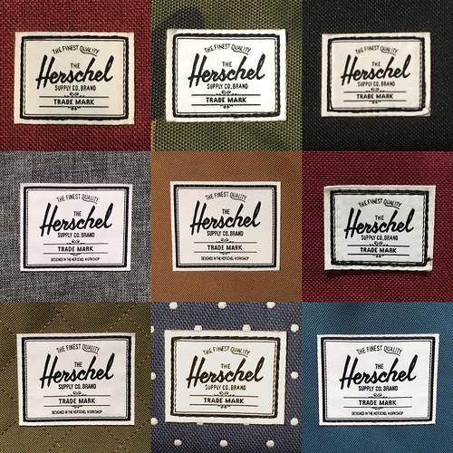 Concept 1: Herschel Supply Co. feat. Pantone