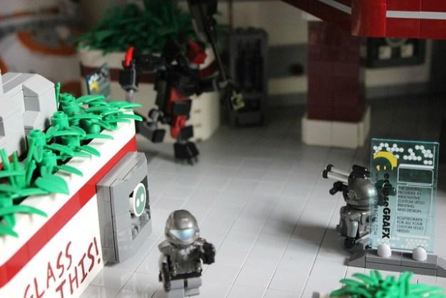 LEGO Halo 3 ODST Uplift Nature Reserve: 9