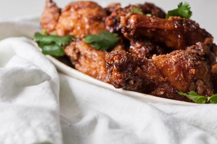 Thai Fried Chicken Wings 6