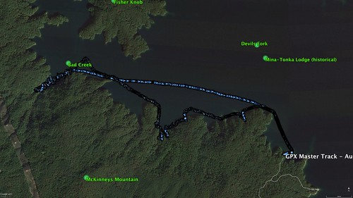 Paddle Route