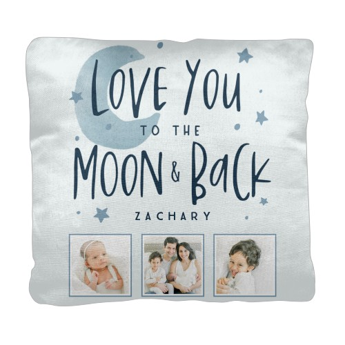 love you to the moon stars pillow custom pillows home decor shutterfly