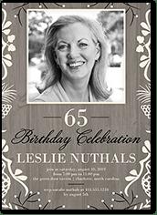 75th birthday invitations shutterfly